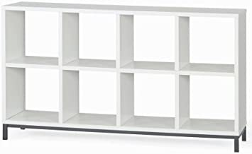 Better Homes and Gardens 8-Cube Organizer with Metal Base (White, 1)