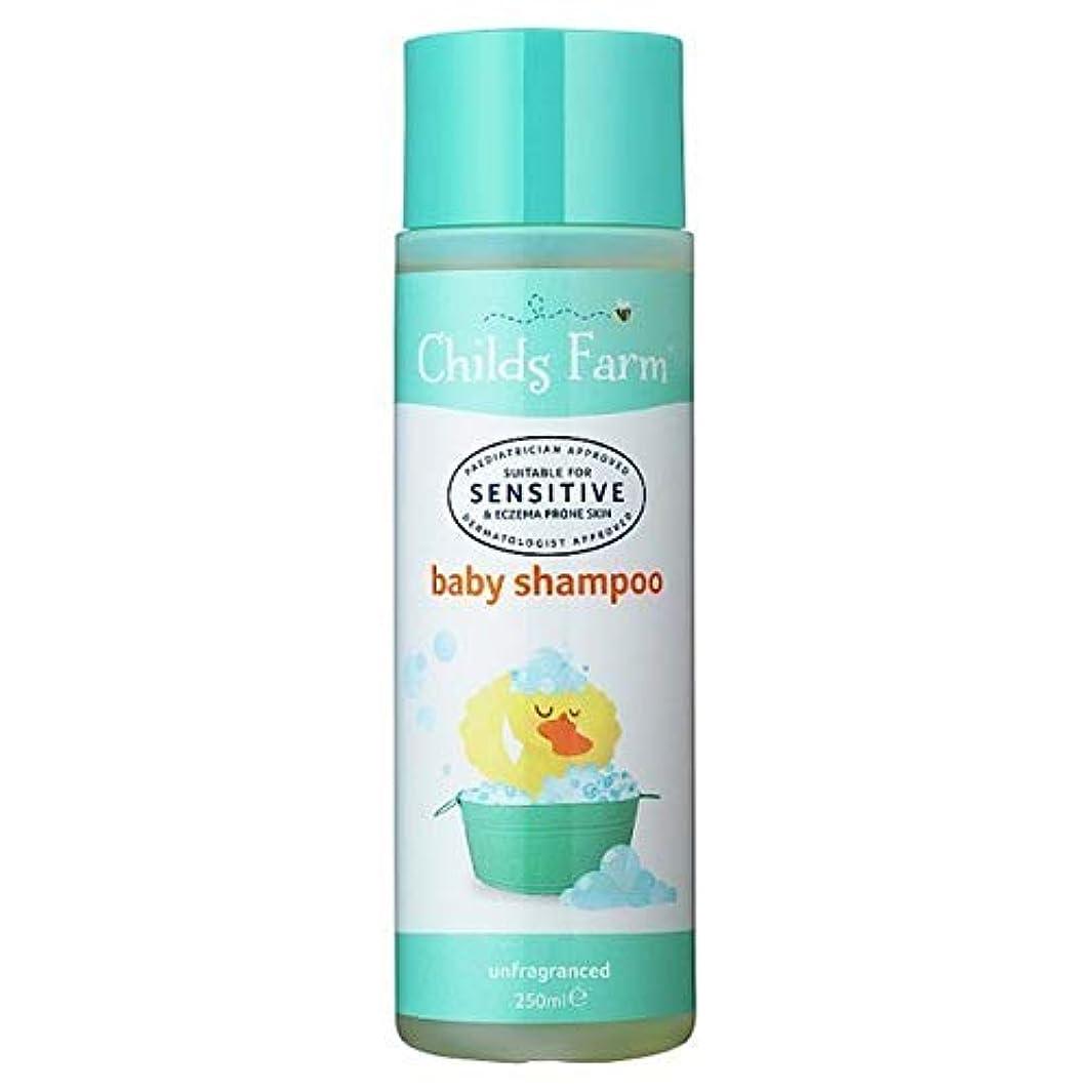 朝ニュージーランド牛[Childs Farm ] チャイルズファームベビーシャンプー250Ml - Childs Farm Baby Shampoo 250ml [並行輸入品]