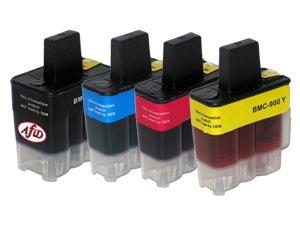 6er Komplettset Druckerpatronen für z.B. Brother DCP 110c 115c 120c 310cn MFC 210c 215c 410cn ersetzen LC900