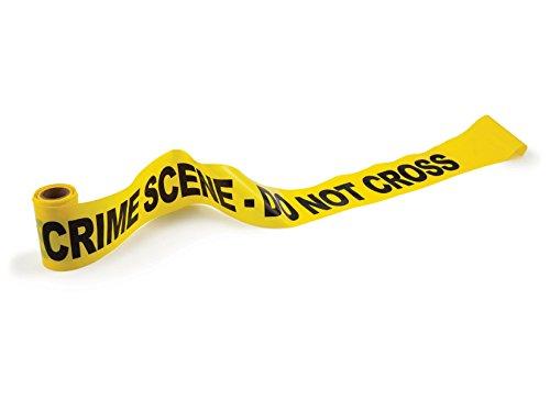 BigMouth 50 ft ,nastro 'non attraversare 'della scena del crimine (giallo)