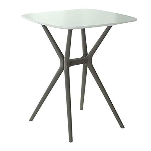SH-tables Mesa De Centro, Mesa De Ocio Simple, Mesa De Centro Nórdica, Mesa De Comedor (PP + MDF), para Balcón/Comedor (Color : C)
