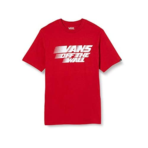 Vans Racers Edge SS Boys T-Shirt, Peperoncino, M Bambino