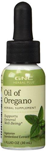 GNC Herbal Plus Oil of Oregano, 1 fl. oz.