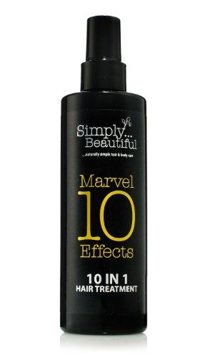 10 in One Tratamiento para el pelo ofrece 10 efectos milagrosos en una botella - Protección térmica, acondiciona en profundidad, repara el cabello dañado, previene las puntas abiertas, hidrata el pelo