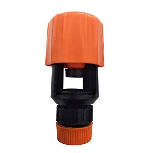 Yuniroom Kitchen Adjustable Mixer Tap to Garden Hose Pipe Connector Adapter Indoor Outdoor (Color : Orange)