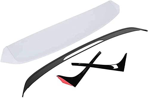 QINDE Refit Sin Pintar para Alerón De Techo R-Look Apto para Mk7 / Mk7.5 Estándar 2013 2014 2015 2016 2017 2018 2019 2020
