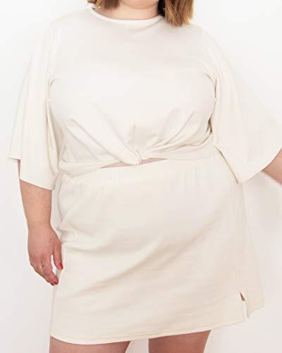 The Drop Women's Whisper White Knit Twist Front Top by @itsmekellieb