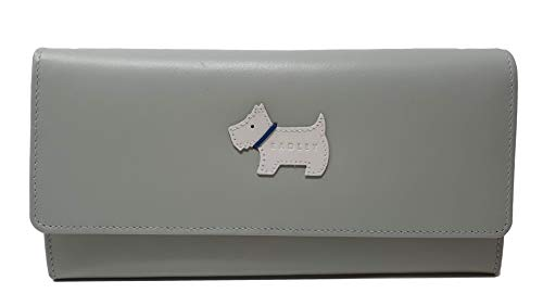 Radley Heritage Dog Large Leather matinee in Smooth Green Leather