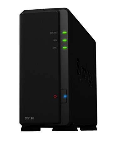 Synology DS118 1 Bay Desktop-NAS-Gehäuse