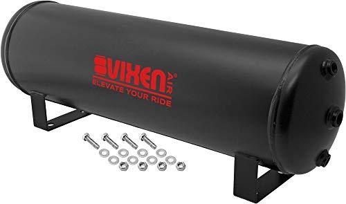 Vixen Air 4 Gallon (15 Liter) 7 Ports Suspension/Air Ride/Bag/Train Horn Air Tank 200 PSI VXT4100