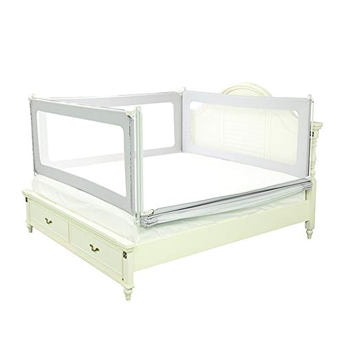 Check Out This Bed Rails LHA 3 Side Crib Guardrail 1.8 M 2.0 M Child Anti-Drop Bed Shatter-Resistant...