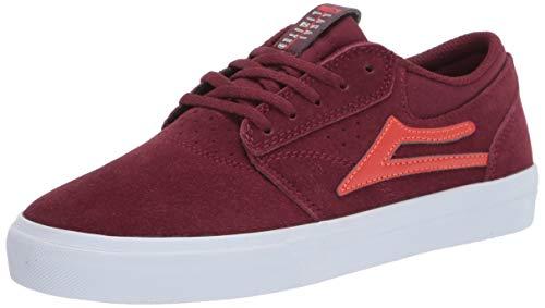 Lakai Footwear Mens Men's Griffin Skate Shoe, Burgundy Suede, 5.5