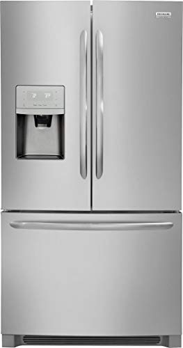 Frigidaire FGHD2368TF Gallery Series 36 Inch Counter Depth French Door Refrigerator with 21.9 cu. ft. Total Capacity, in Stainless Steel