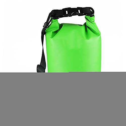 Lixiabeidai Amazing Waterproof Backpack, Drifting Bag, Used For Water Entertainment, Surfing, Fishing, Swimming to Keep The Items In the Backpack Dry,Green-15L