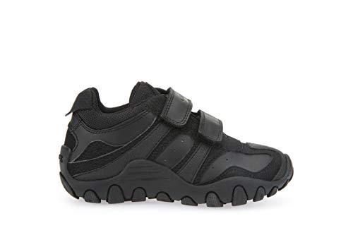 Geox J CRUSH M Boy's Sneakers, Black (Black 9999), 1.5 UK (34 EU)