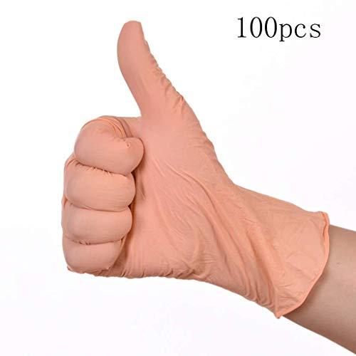 JIAHE115 Mini handschoenen Advanced Contour Work nitrilhandschoenen geen latex handschoenen wegwerphandschoenen geen poeder 4 mil dikte maat M.L werkhandschoenen