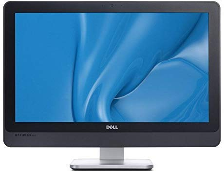 Dell Optiplex 9010 AIO 23in FHD WLED All-in-One Desktop Computer, Intel Quard-Core i5-3470S 2.9GHz, 8GB RAM, 500GB HDD, DVDRW, WIFI, USB 3.0, HDMI, Windows 10 Professional (Renewed)