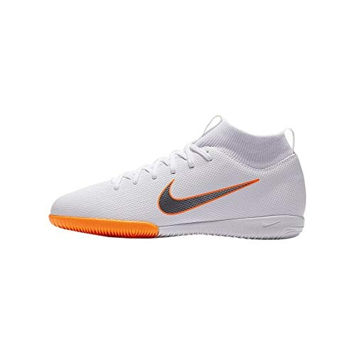 Nike Unisex-Erwachsene Mercurial Superfly X 6 Academy IC JR AH7 Fußballschuhe, Mehrfarbig (Indigo 001), 37.5 EU