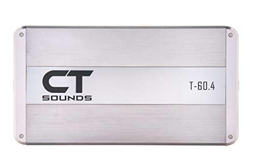 Review Of CT Sounds 4 Channel Car Amplifier – 320 Watts RMS, Bridgeable Outputs, Mosfet Pwm Power ...