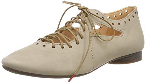 Think! Damen Guad_484284 Geschlossene Ballerinas, Beige (Jute 43), 41.5 EU