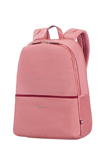 "SAMSONITE Nefti - Backpack 14.1"" Mochila Tipo Casual, 41 cm, 15 Liters, Rosa (Old Rose/Burgundy)"
