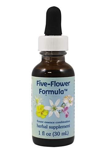 Flower Essence Services, Five-Flower Formula Dropper - 1 oz