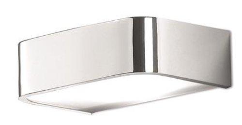 Pujol Iluminación Arcos-Aplique para baño, 1 x R7s, 78mm, Maximo 80 W, Acabado Cromo