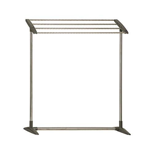 OCEANPAX Poolside Towel Rack 4 Bar Standing Pool Spa Outdoor Towel Rack for Drying and Organizer