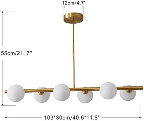 Glass ball pendant light _image1