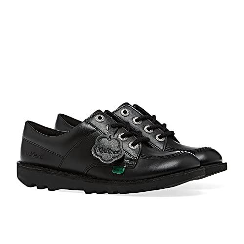 Kickers Unisex Kid's Kick Lo Core Leather Shoes