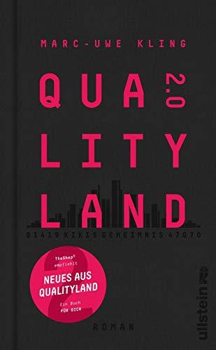 Buchseite und Rezensionen zu 'QualityLand 2.0: Kikis Geheimnis' von Marc-Uwe Kling