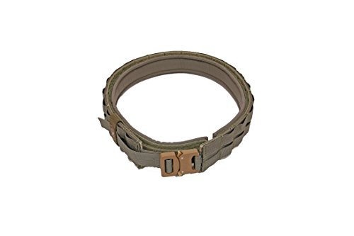 Grey Ghost Gear 7011-6 UGF Battle Belt with Padded Inner, Small, Small, Ranger Green