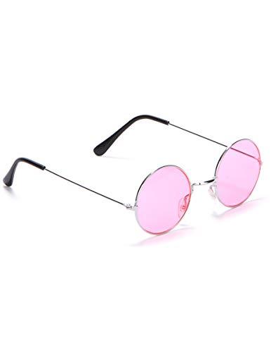 Boland BOL02591 Brille Rotondi Hippy Adulti