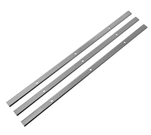Planer Replacement 3-Blades for Delta 22-591, WEN 6552T, Craftsman 351.217480, 13-Inch Thickness Planer - Set of 3 -  IIOV TOOLS