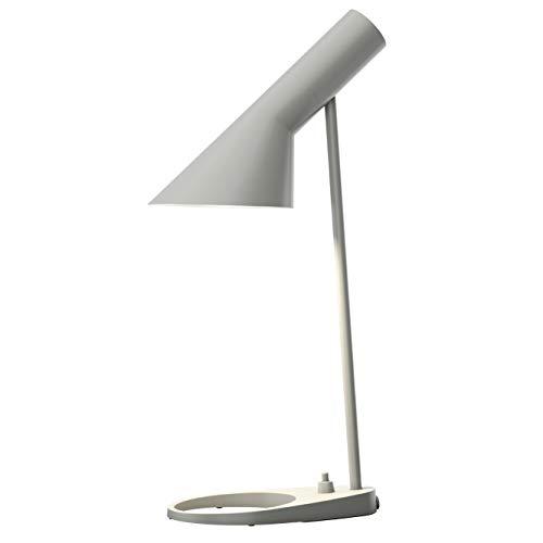 AJ Mini Table Lamp, Louis Poulsen, Tischleuchte Entworfen von Arne Jacobsen (Original Grau)