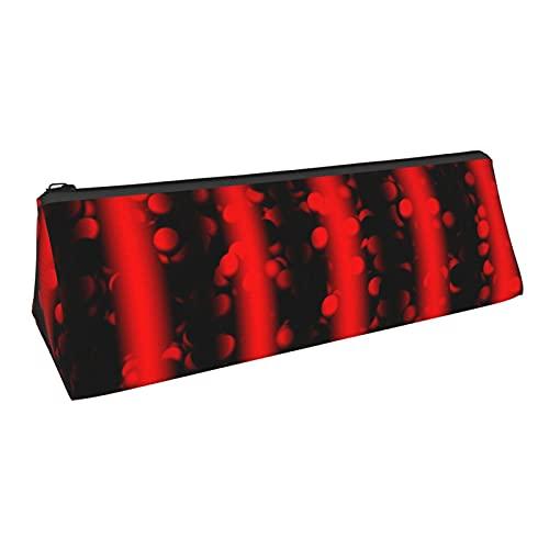 Wave Particles Quantum Physics - Estuche de lápices con cremallera Oxford tela multifuncional bolsa de almacenamiento bolsa de cosméticos