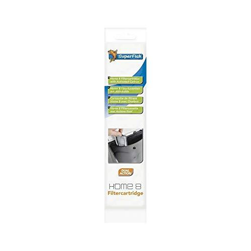 Superfish 573265/2505 Filtercartridge Ersatzfilterkassette für Home 8