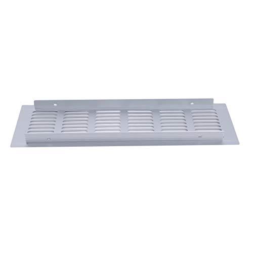 MOONRING 2 uds, Pequeño rectángulo de ventilación, aleación de Aluminio, Armario, Armario, Rejilla, Orificio, ventilación, decoración del hogar