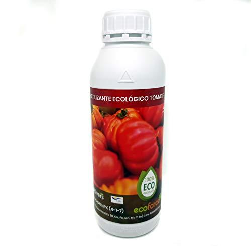 CULTIVERS Fertilizante Ecológico para Tomates Líquido de 1 L. Abono 100% Orgánico y Natural, Potencia el Sabor y el Crecimiento. Aumenta la Calidad de los Frutos y la Cosecha