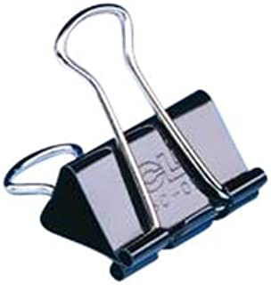 Charles Leonard Inc. Binder Clips, 1.25 Inch with 5/8 capacity, 12 Count (BC-05) by Charles Leonard