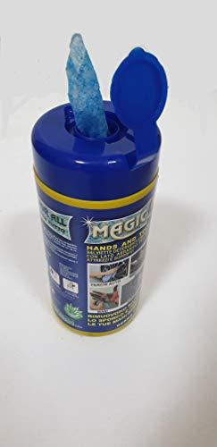Fettlösende Reinigungstücher mit abrasiver Seite für Handgeräte und Oberflächen