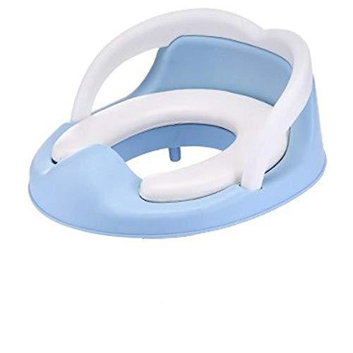 Pots de formation siège Portable bébé Pot mignon siège de toilette urinoir enfants enfants pot avec amovible rembourré siège de pot-bleu