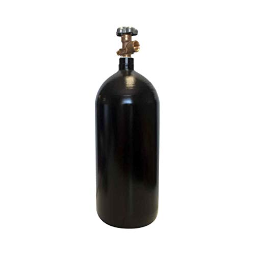 40 cu/ft 75% Argon 25% CO2 Welding Gas Cylinder Tank CGA 580 - FULL