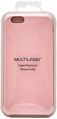 Case Premium Para Iphone 6/6S Rosa Multilaser - AC307
