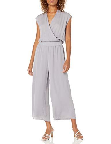 Theory Women's Draped Jumpsuit, Lavender, M