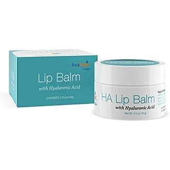 Hyalogic Episilk Hydrating Lip Balm w/Hyaluronic Acid | Dry Lips | Natural Moisturizing Lip Balm | Gluten & Fragrance Free, Unflavored (0.5 oz)