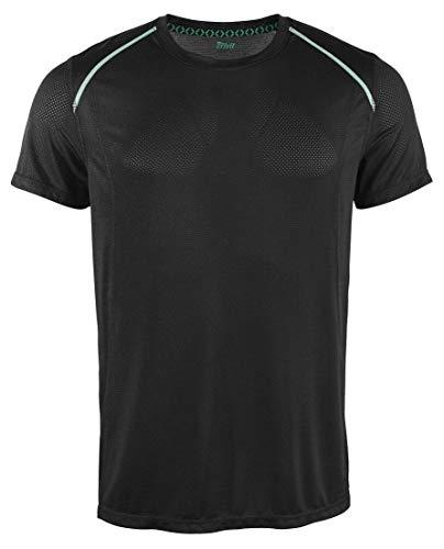 Crivit Herren Funktionsshirt Sportshirt Workout Fitnessshirt Schwarz L 52/54
