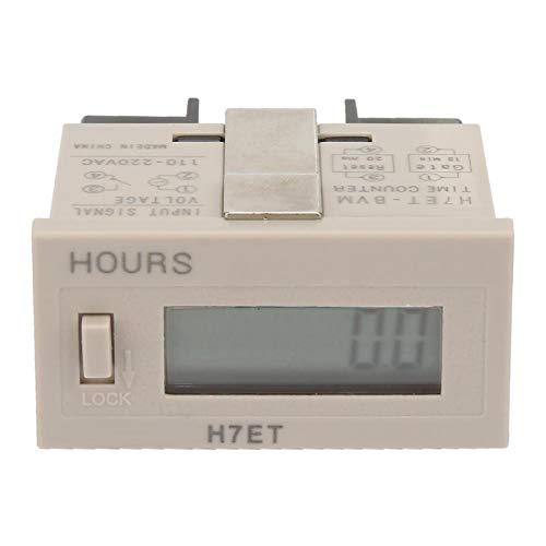 Acumulador eléctrico reiniciable AC 220V para monitoreo inteligente para configuraciones mecánicas(0.0 hours)