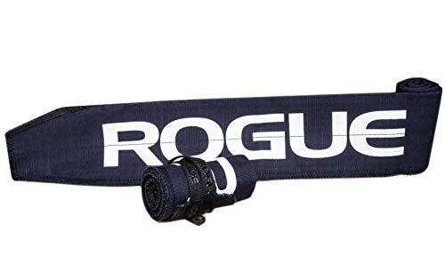 ROGUE FITNESS ローグ リストラップ 手首固定 ペア 長さ89cm×幅7.3cm (Navy) [並行輸入品]