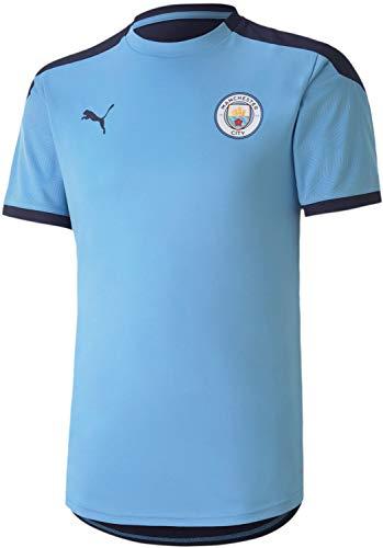 PUMA Manchester City FC Trainingstrikot für Herren, Herren, Manchester City FC Trainings-Trikot, Blau, Medium